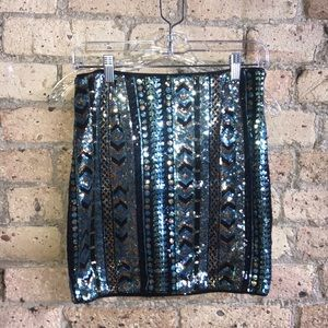 Ark & Co. sequined miniskirt